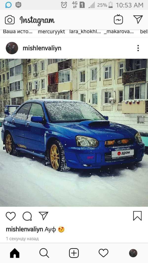 Продажа Субару Импреза WRX STI 2004 года в Якутске, wrx ...