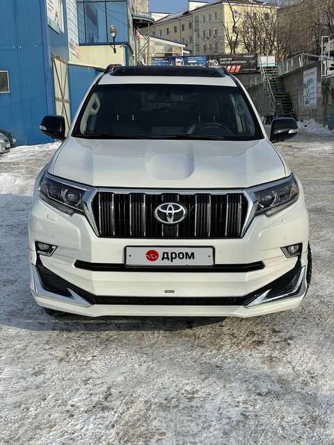 Купить Тойота Ленд Крузер Прадо в Приморском крае: продажа ...