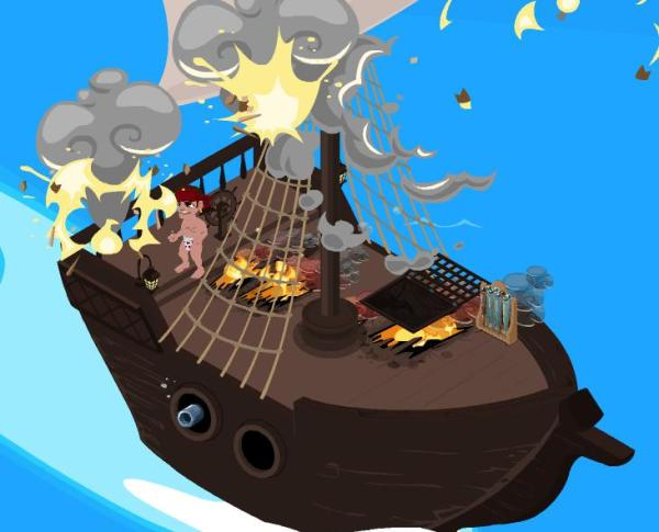 pirate ship battle game # 42