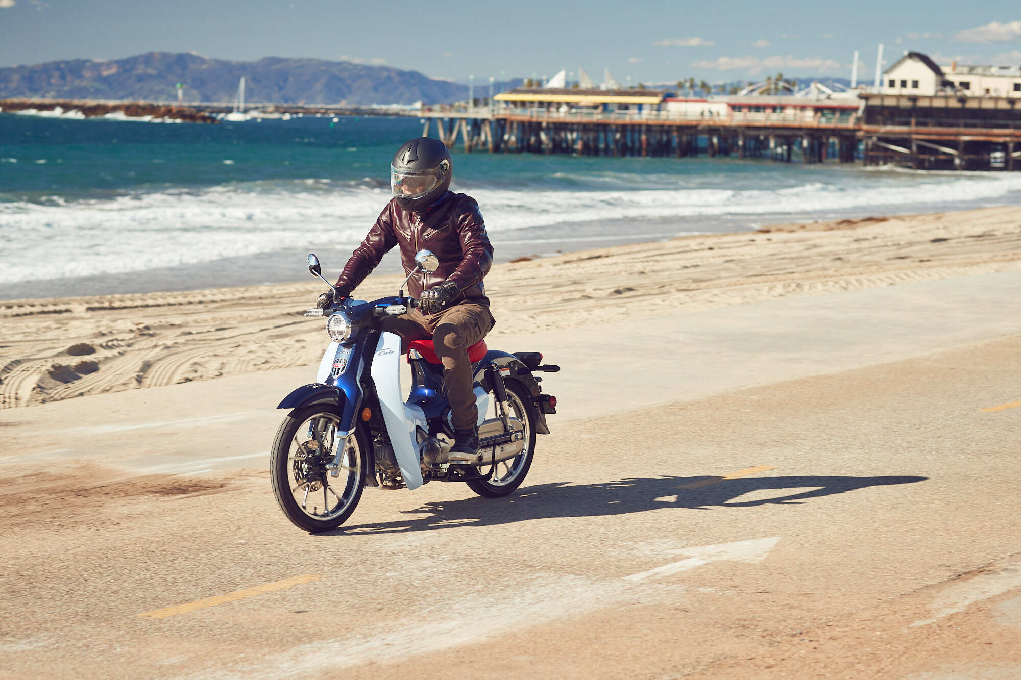 2019 Honda Super Cub Motorcycle Riding Review And