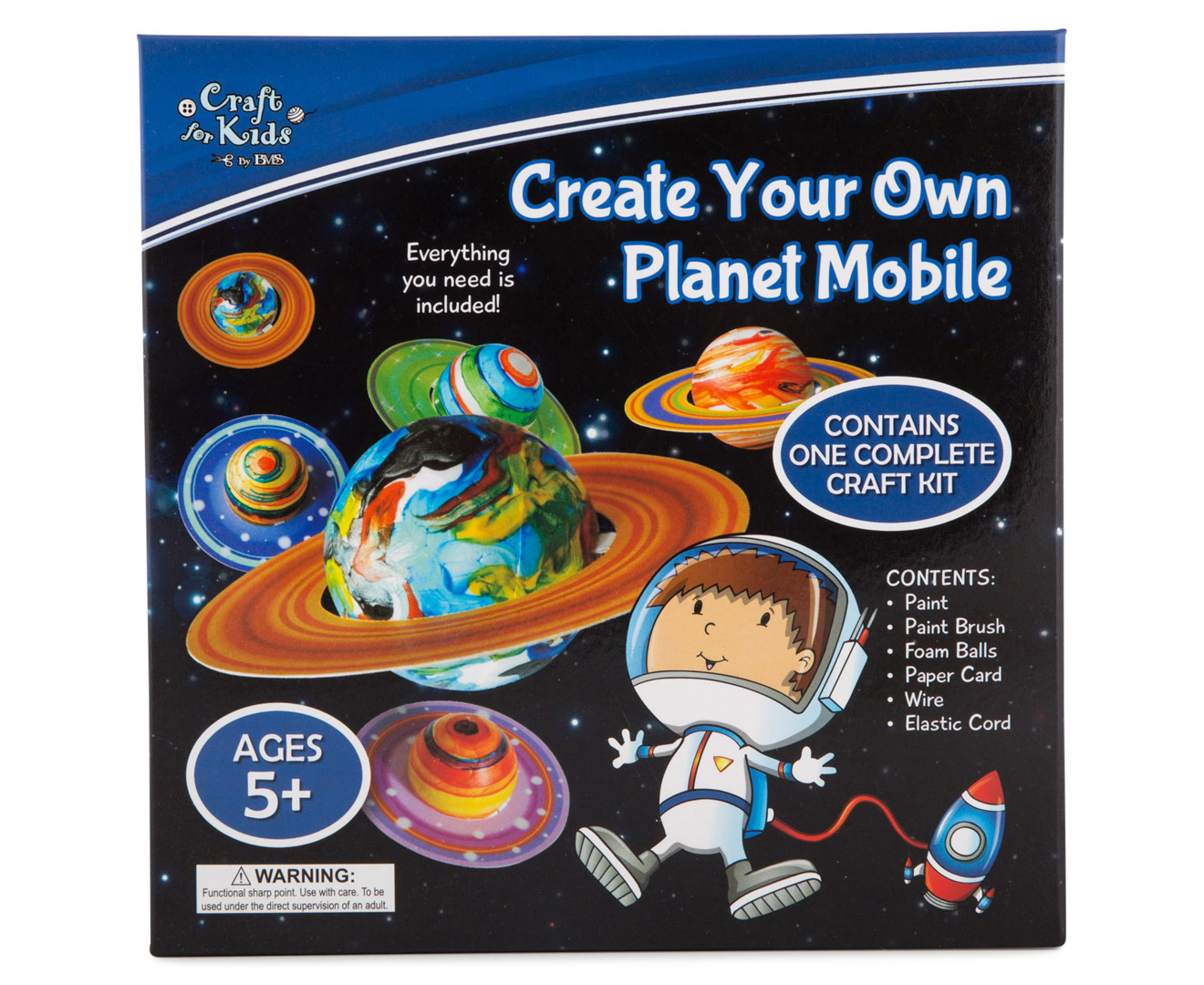 Craft For Kids Make Your Own Planet Mobile