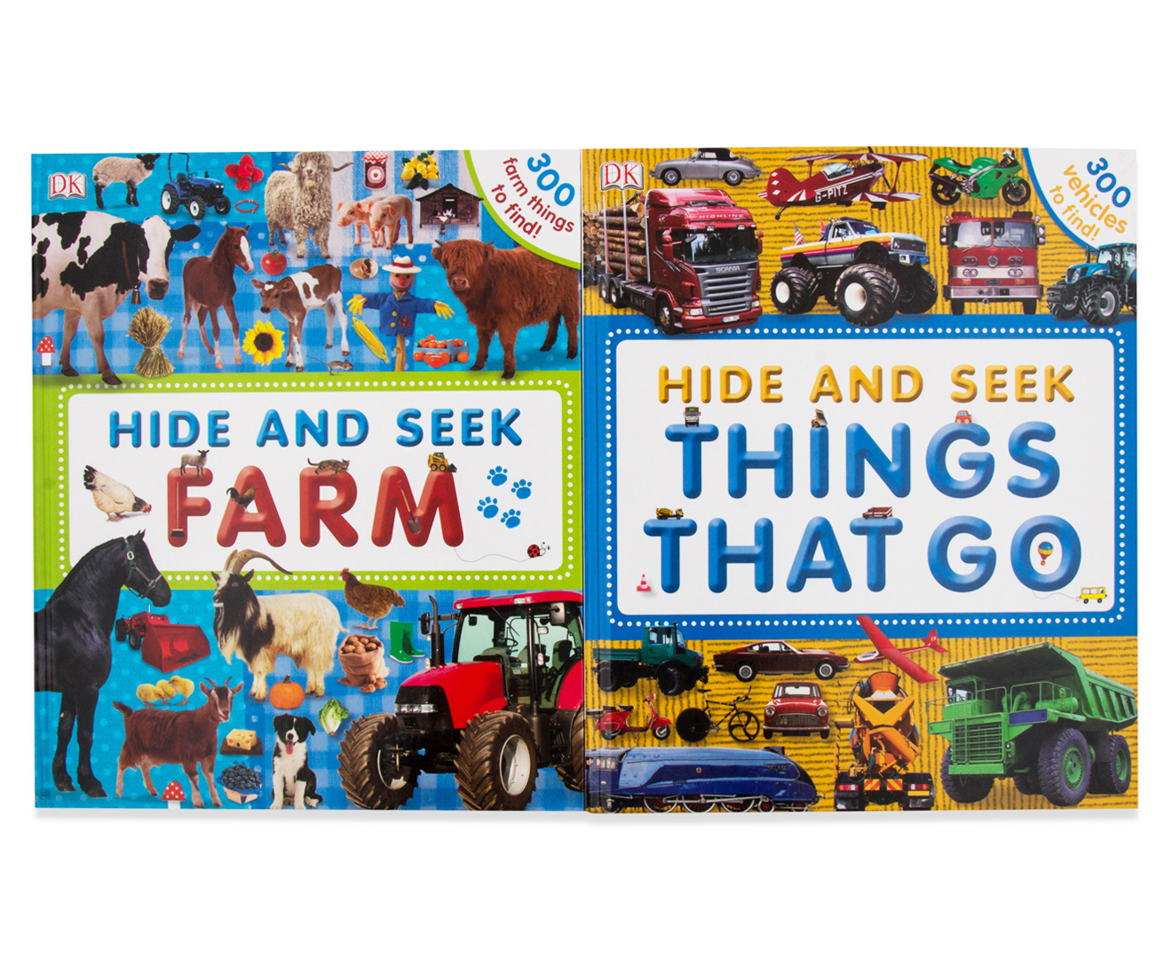 Hide And Seek Set Of 4 Activity Books