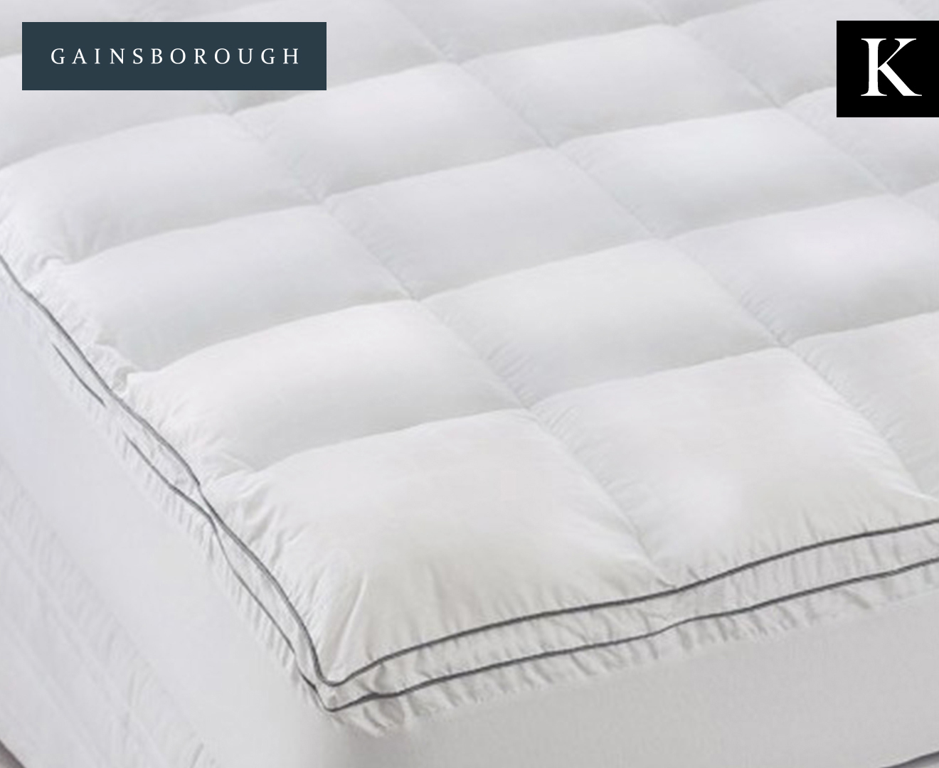 Gainsborough Deluxe Feather Amp Down King Bed Mattress