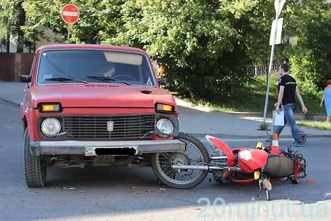 У Тернополі збили мотоцикліста: за кермом автомобіля був ...