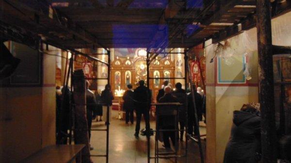 Православные христиане праздновали начало зимы в Михайлов ...