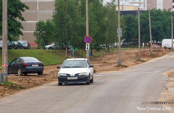 В Гродно на ул. Клецкова расширяют дорогу под будущую ...