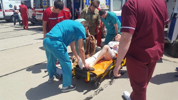 В Одессу прибыл борт с раненными АТОшинками: 22 раненых ...