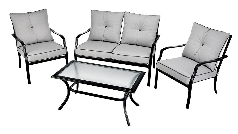 for livingbluebay patio conversation set for living 4 pc delivery cornershop by uber canada