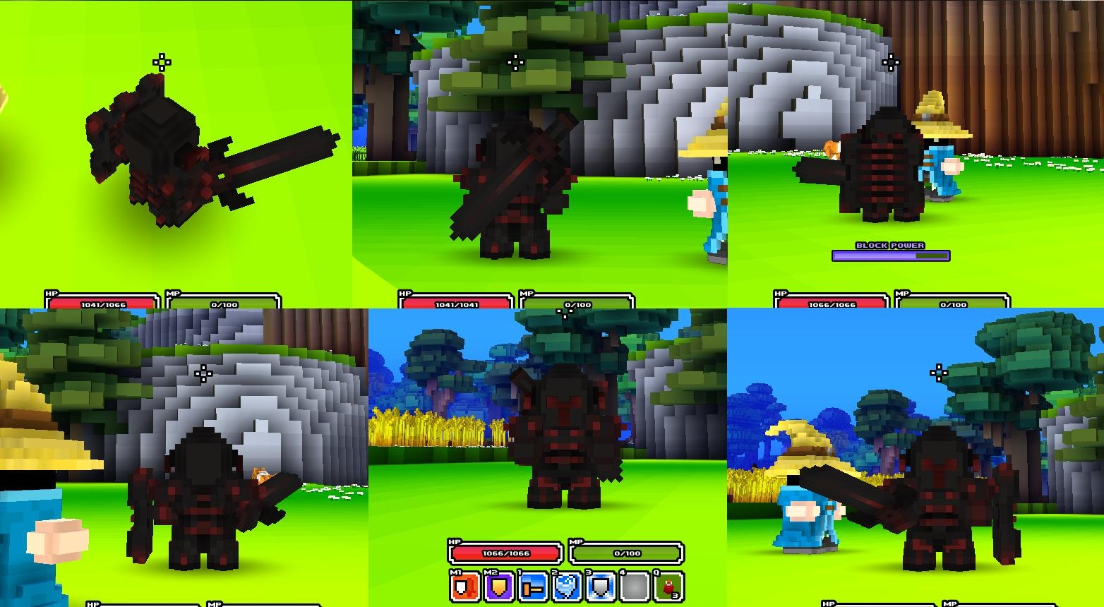 Armor Models Cube World Mods