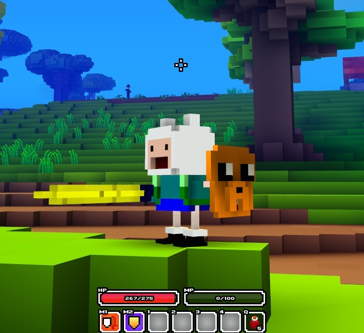 Finn From Adventure Time Player Models Cube World Mods