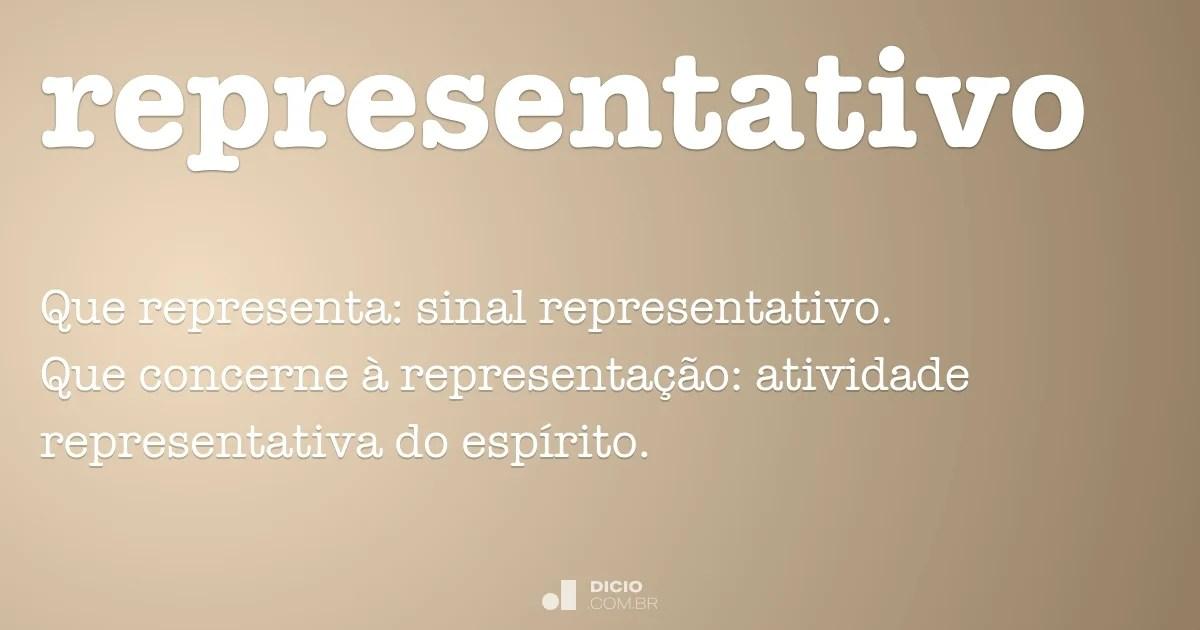 Este ensaio procura debater diversas questões de forma a estimular o pensamento crítico sobre a assembleia da república baseado em factos e números,. Representativo - Dicionário Online de Português