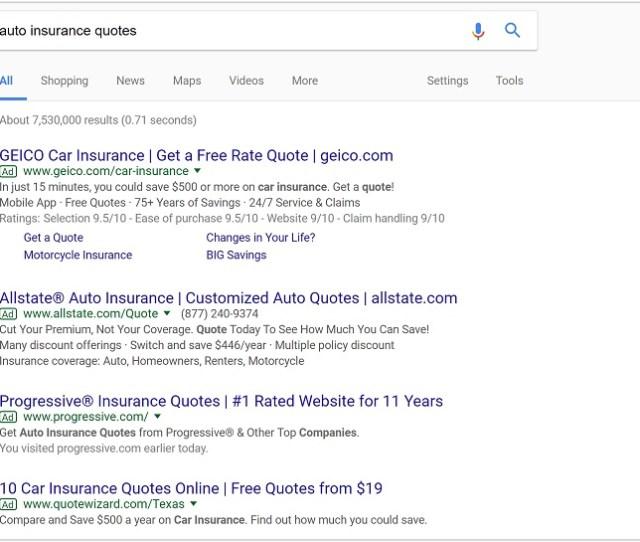 Insurance Search