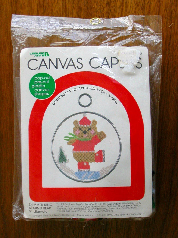 Canvas Plastic Cut Pre Bear