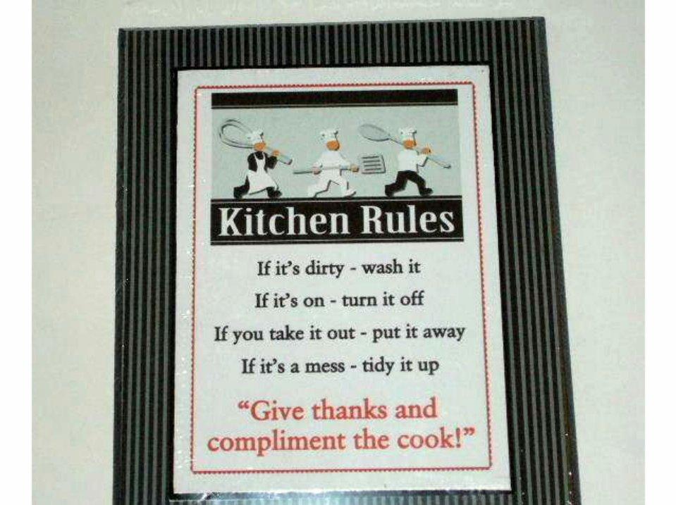 Kitchen Decor Chef