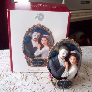 First In The Phantom Of The Opera Series Carlton Ornament