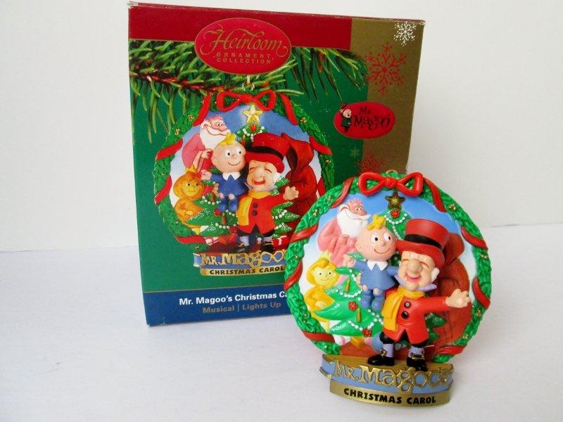 Mr Magoos Christmas Carol Musical Carlton Ornament 2004