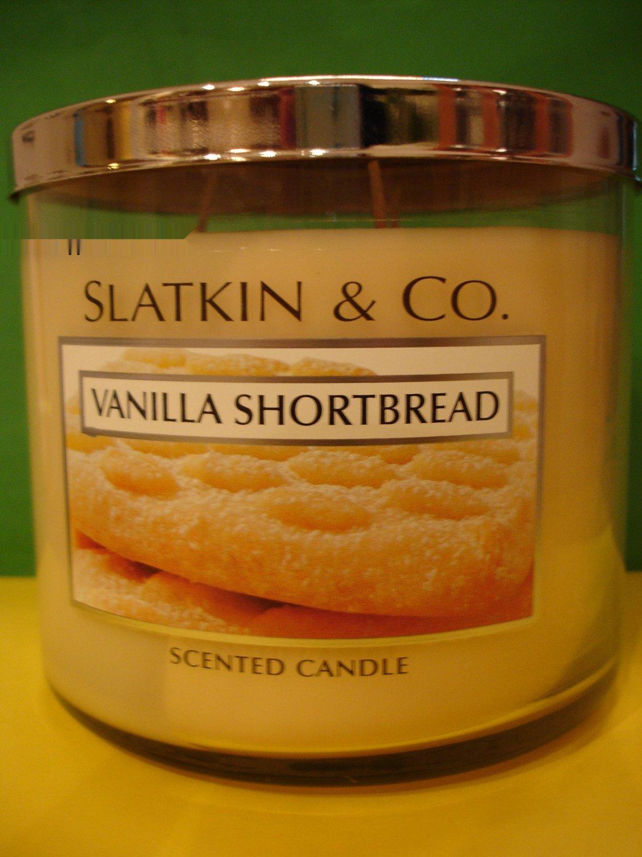 Bath And Body Works Slatkin Vanilla Shortbread 3 Wick