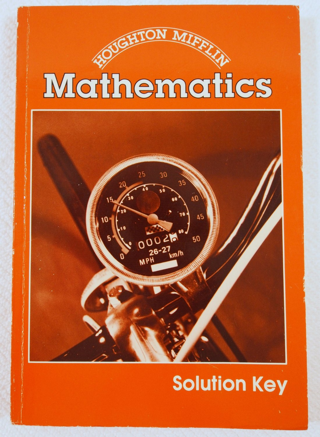 Houghton Mifflin Mathematics Solution Key