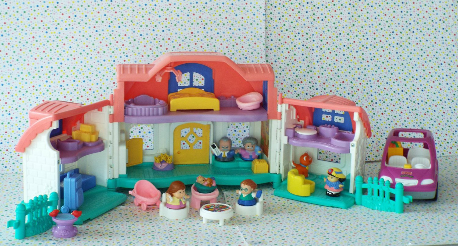 Fisher Price Little People Sweet Sounds Home Little People
