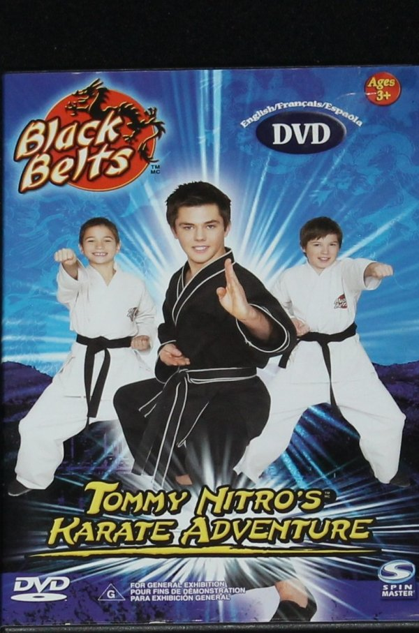 Tommy Nitro's Karate Adventure instructional dvd - kids ...