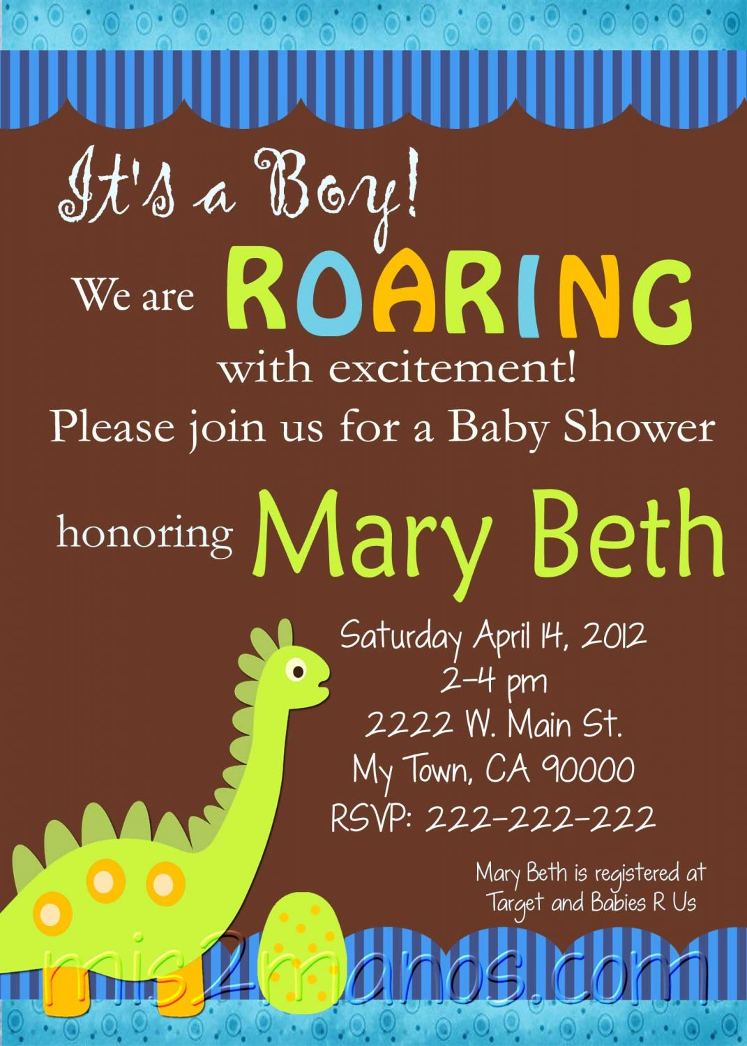 Office Baby Shower Wording