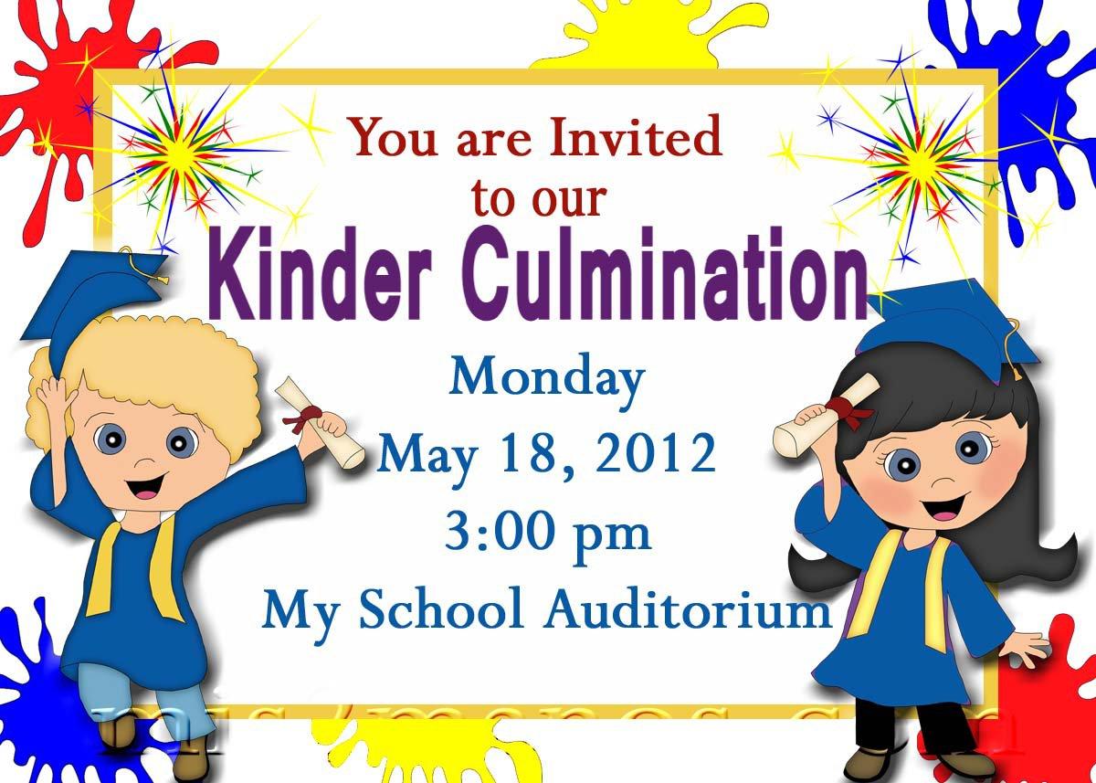 Cute Graduation Party Invitations