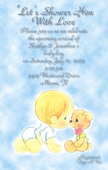 Personalized Baby Shower Invitations Online