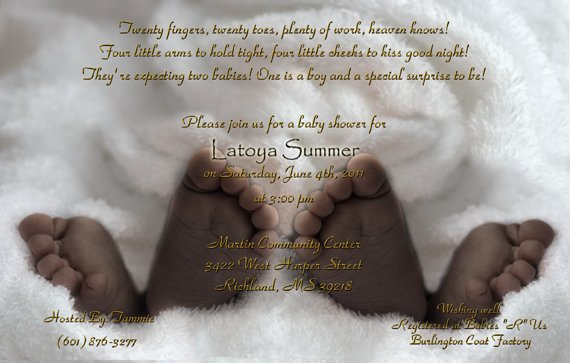 Baby Shower Invitations Wording