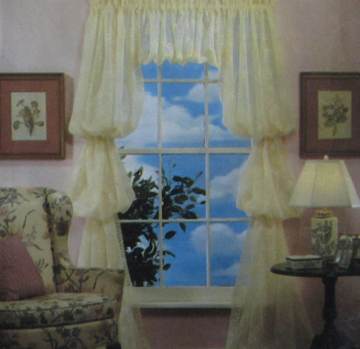 Sewing Pattern Curtains And Swags Window Treatments