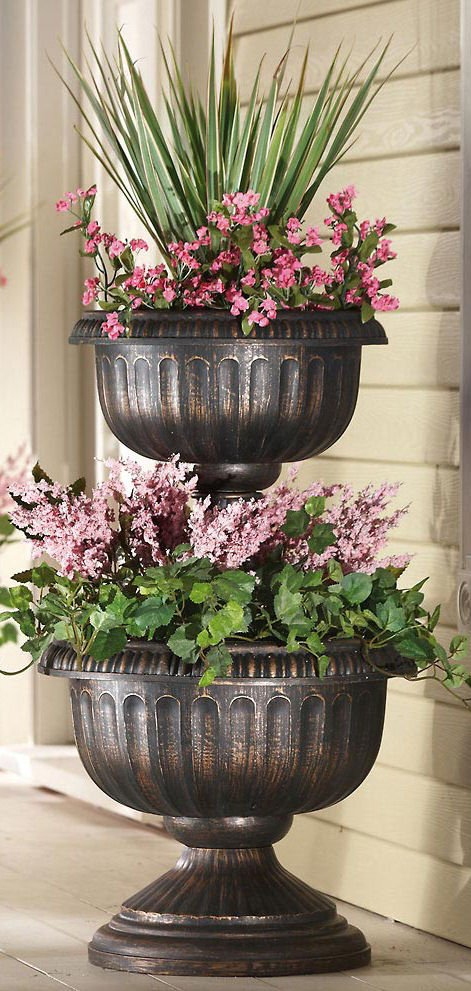 Large Decorative Pots Outdoors