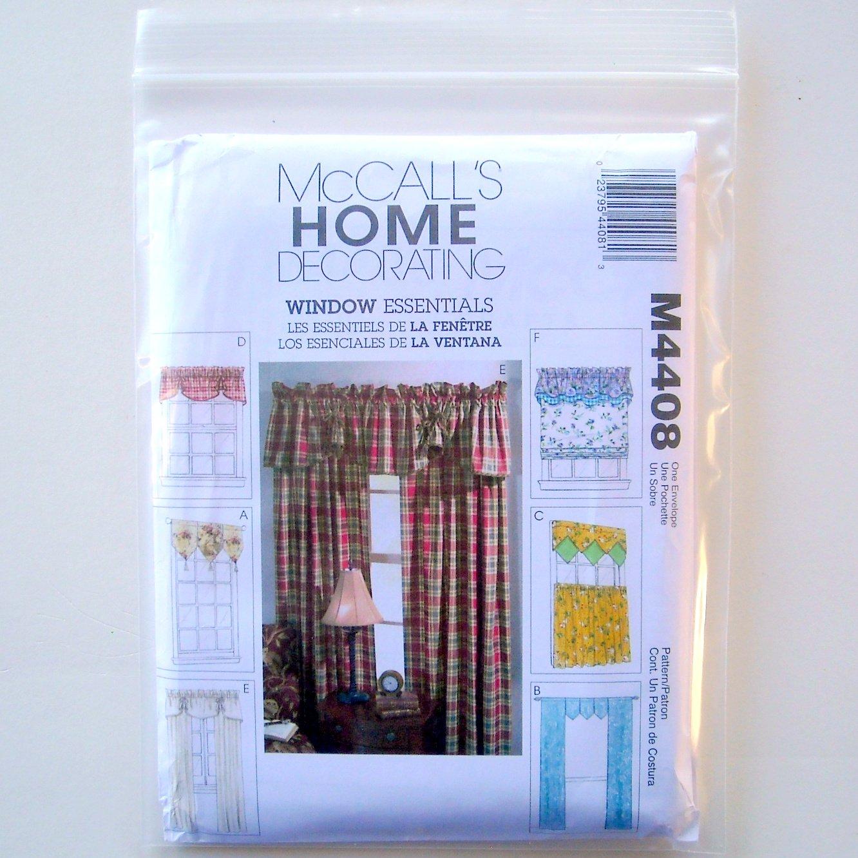 Home Decorating Window Essentials Valances Curtain Panels