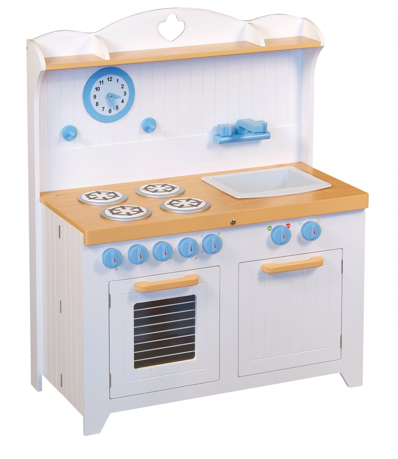 Kids Folding Toy Country Kitchen Hideaway Pretend Play By