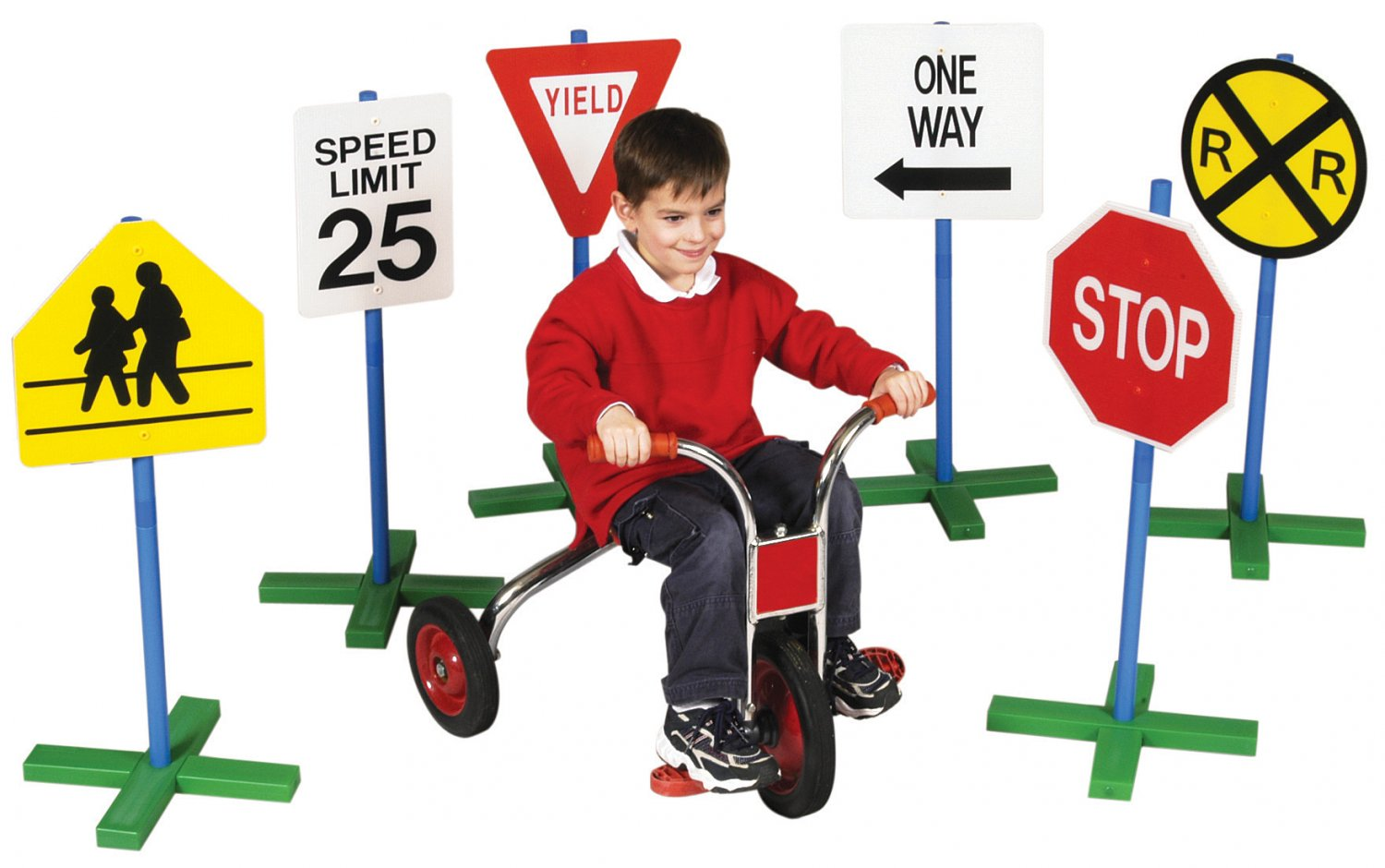 Pretend Play 6 Driving Signs Great For Schools To Teach