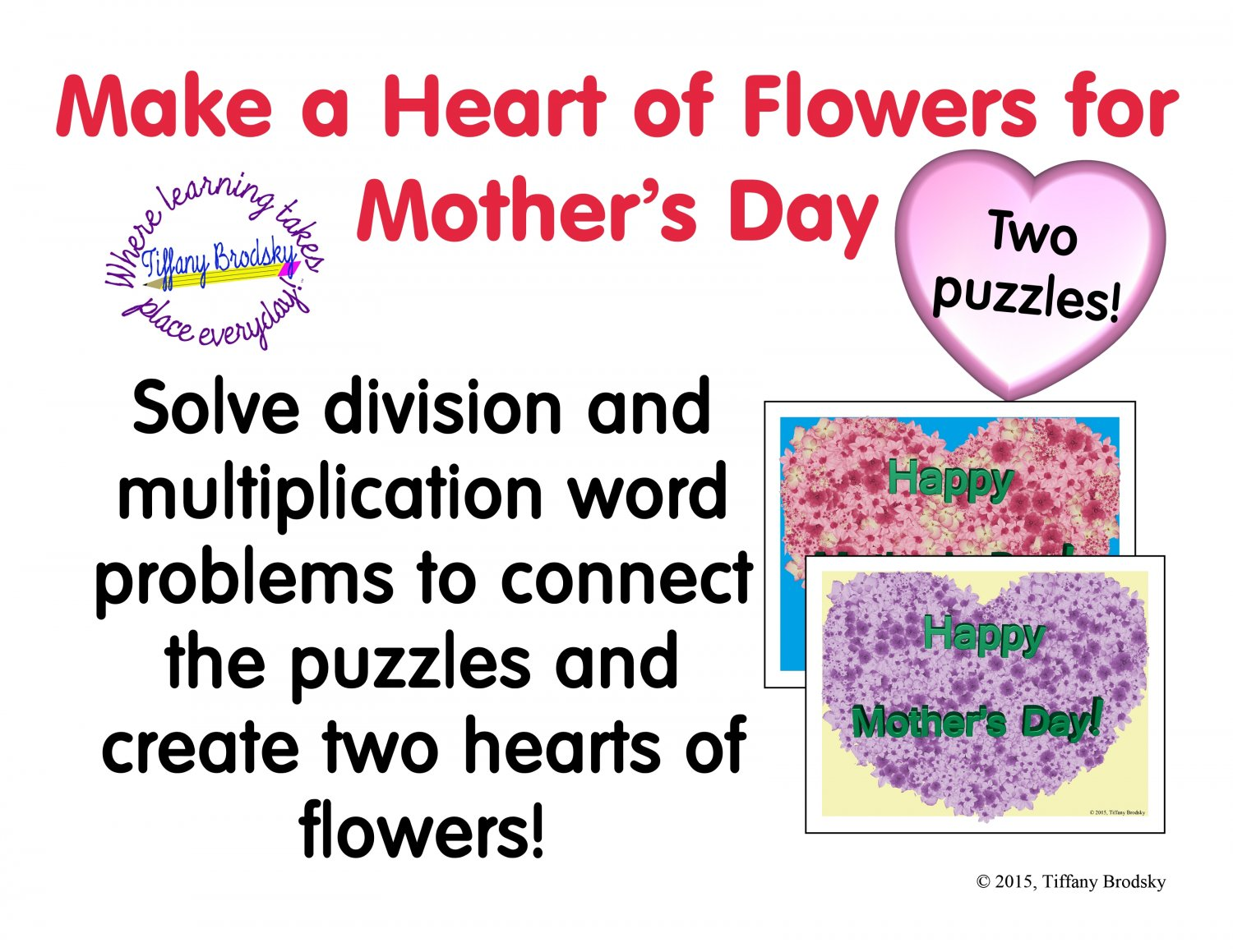 Happy Mother S Day Multiplication And Division Word