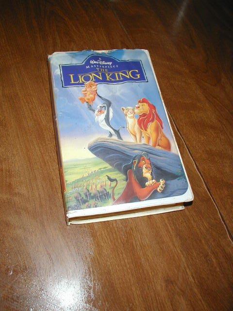 The Lion King Walt Disney's Masterpiece VHS (1995) Matthew ...