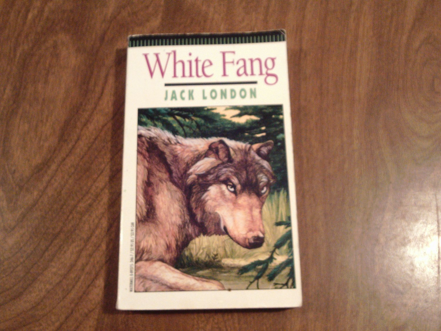 White Fang By Jack London Pb Wcc5 Adventure Wolf