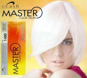 dcash permanent light grey white silver hair dye