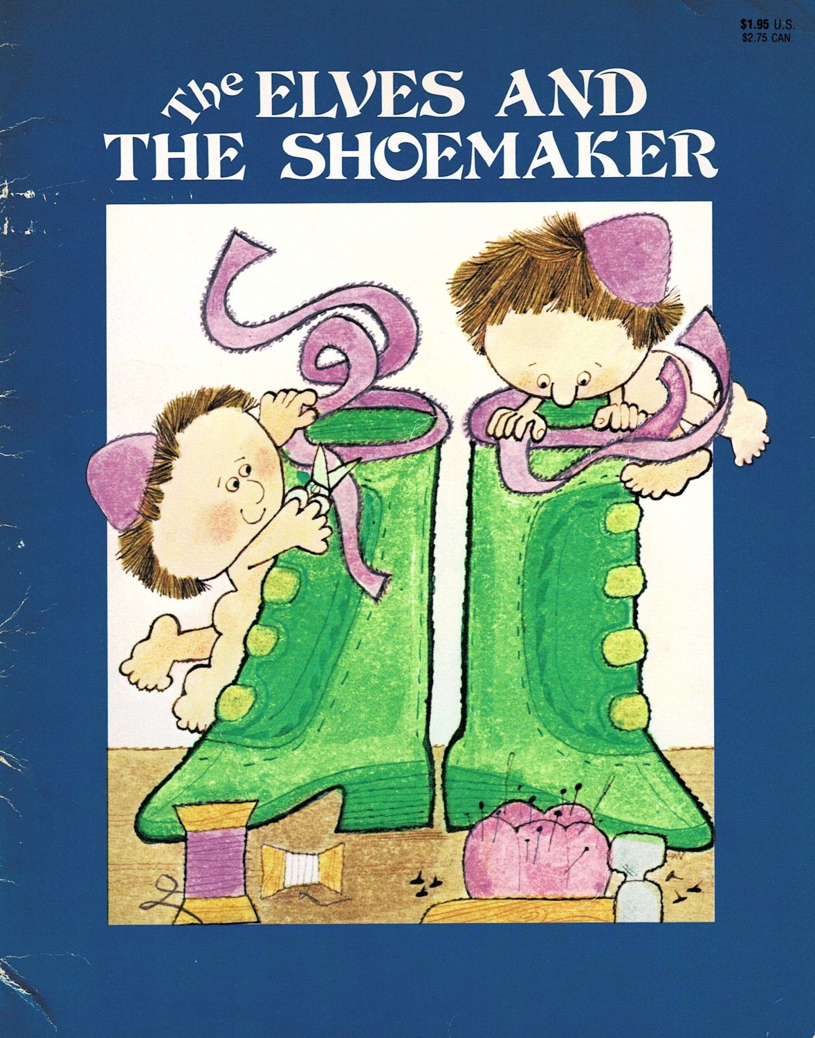 The Elves And The Shoemaker By The Brothers Grimm