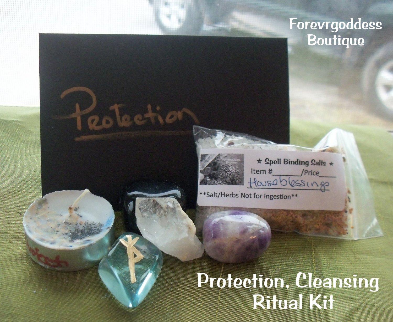 Protection Ritual Kit Item Prtk 01 02
