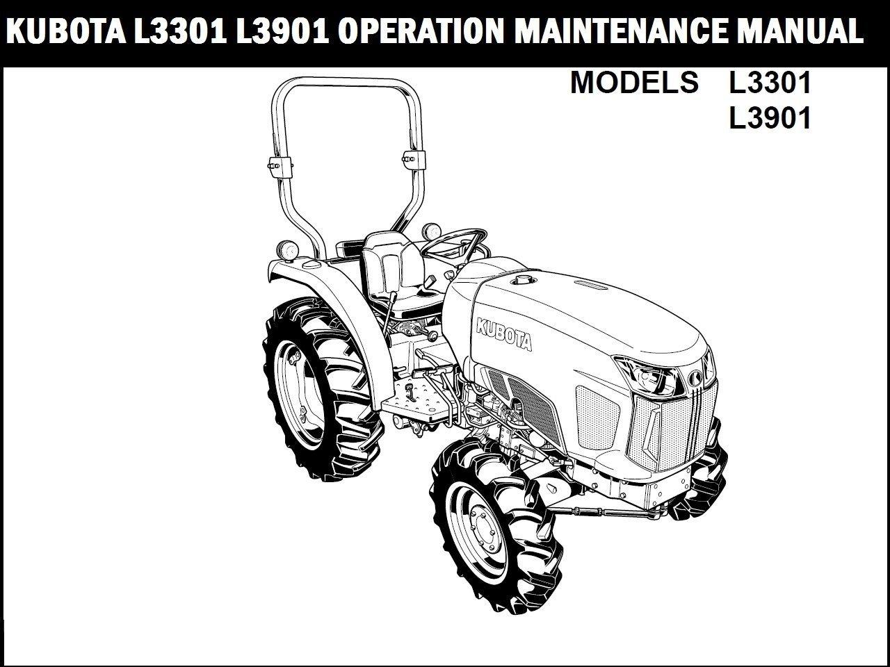 Kubota L L Tractor Operation Manual For