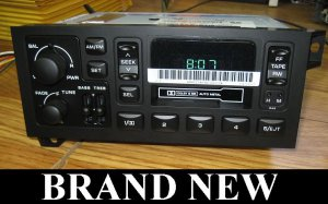 19972001 JEEP WRANGLER CHEROKEE Radio Cassette Player