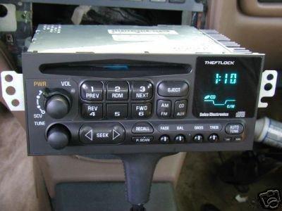 Delco Gm Chevy Am Fm Cd Radio Caprice Impala S10 Blazer