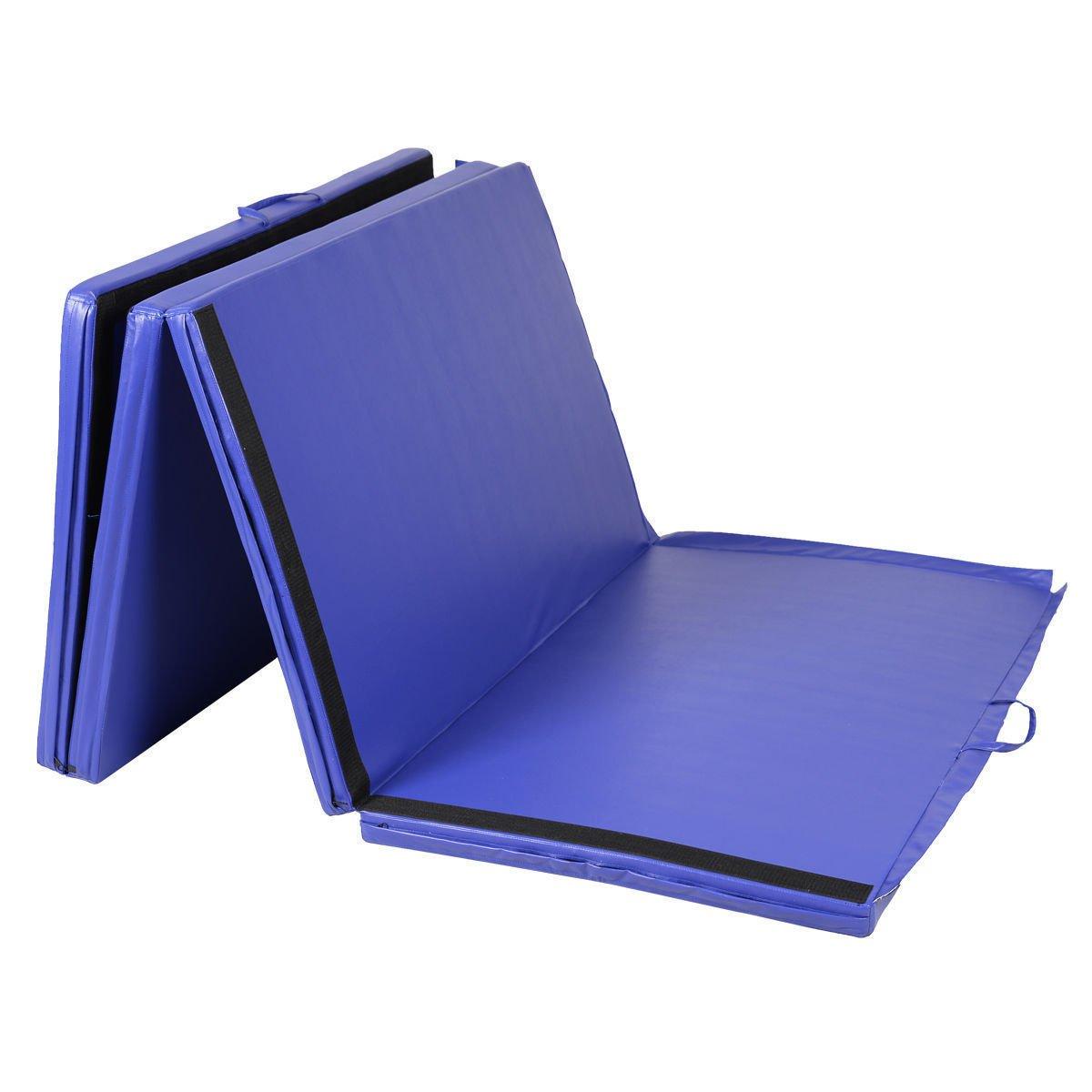 Goplus Folding Gymnastics Gym Exercise Mats 4 X10 X2