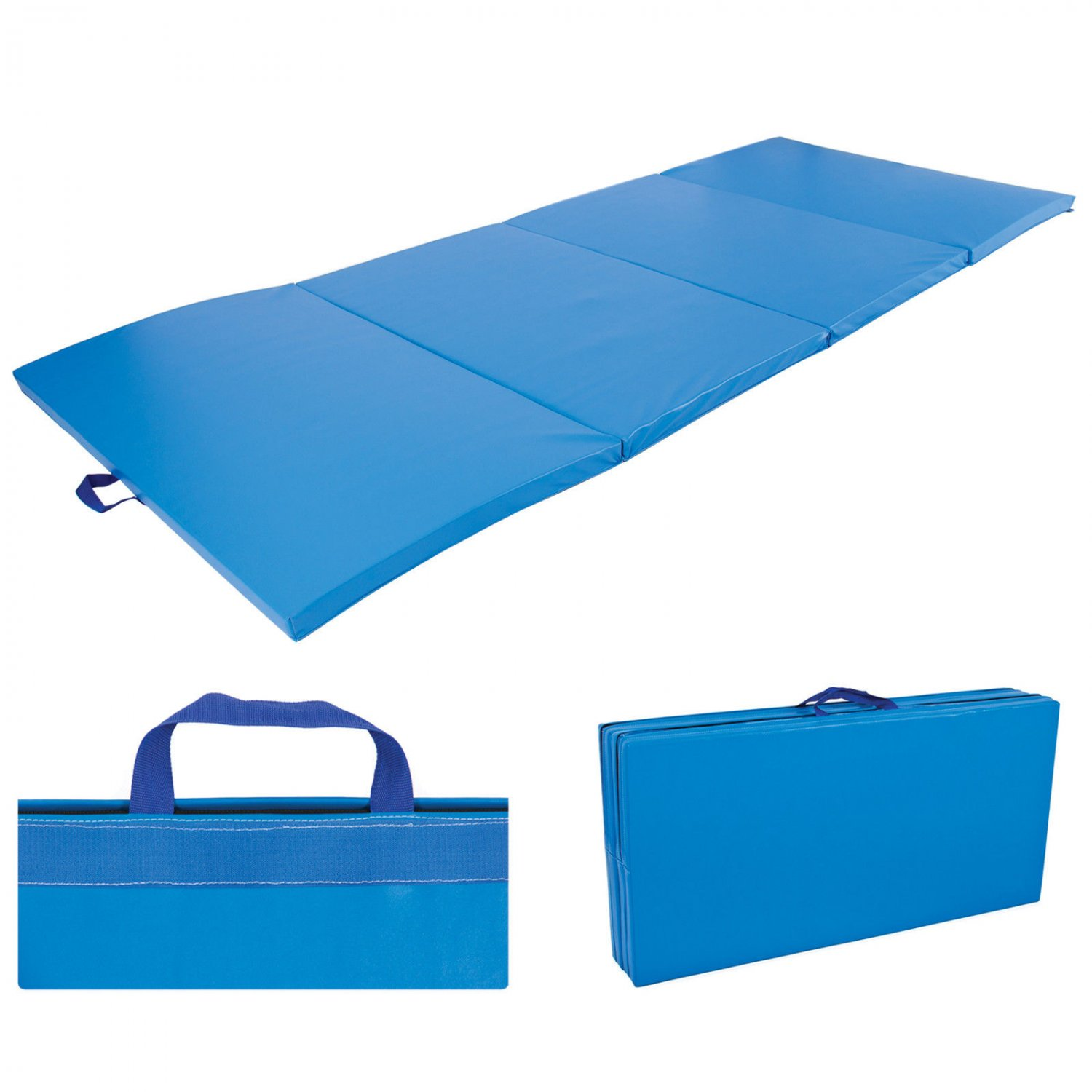 4 X10 X2 Gymnastics Gym Folding Exercise Aerobics Mats