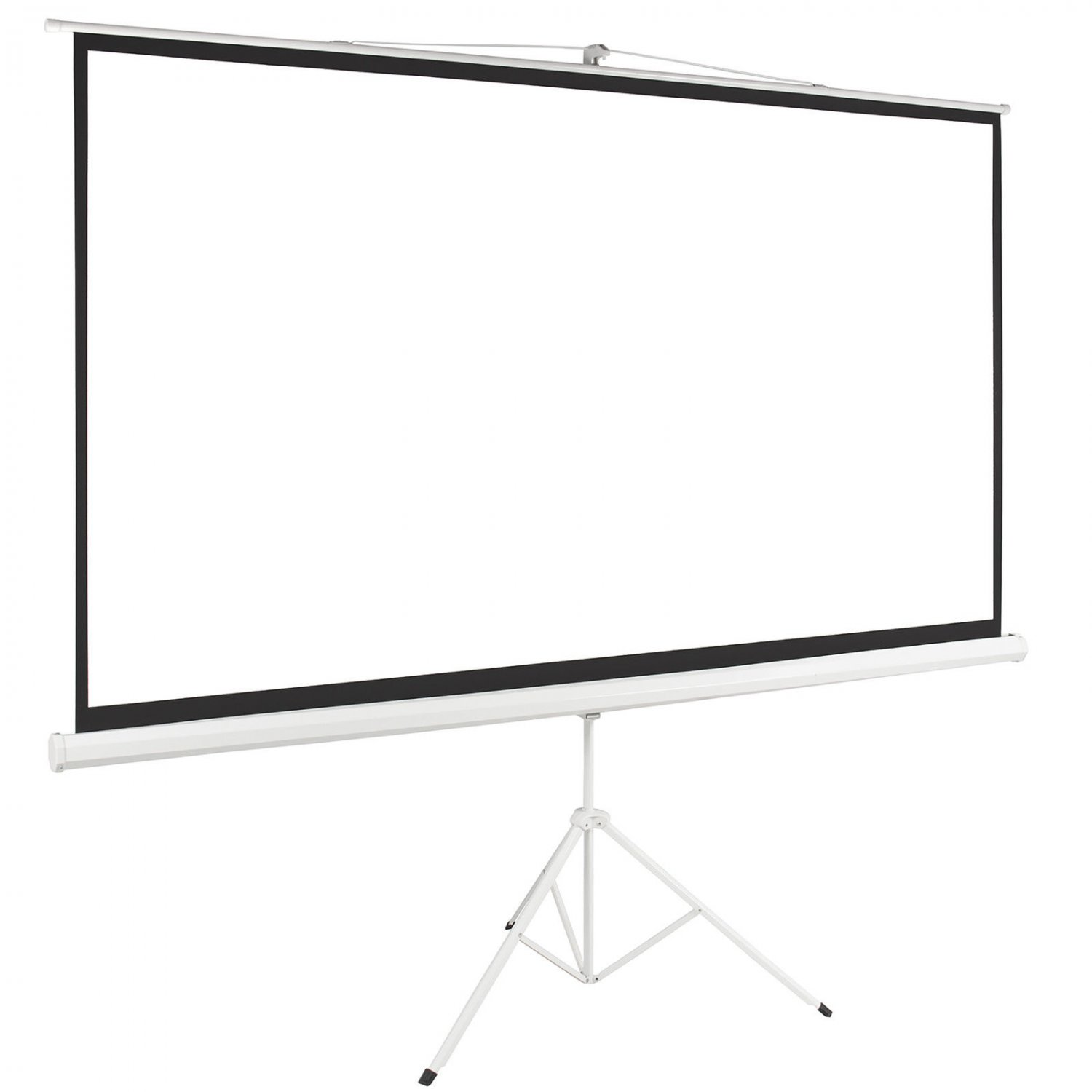 Tripod Portable Projector Projection 16 9 Screen 87x49