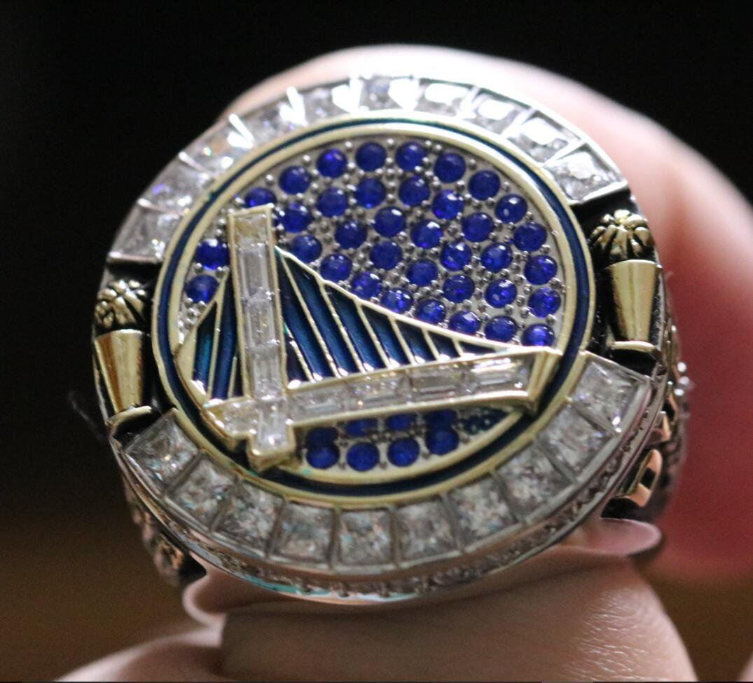 Sale Kevin Durant 2018 Golden State Warriors Basketball Championship Ring 8 14s