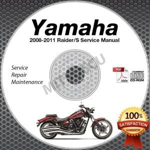 [WRG2077] Yamaha Raider Owners Manual 2009
