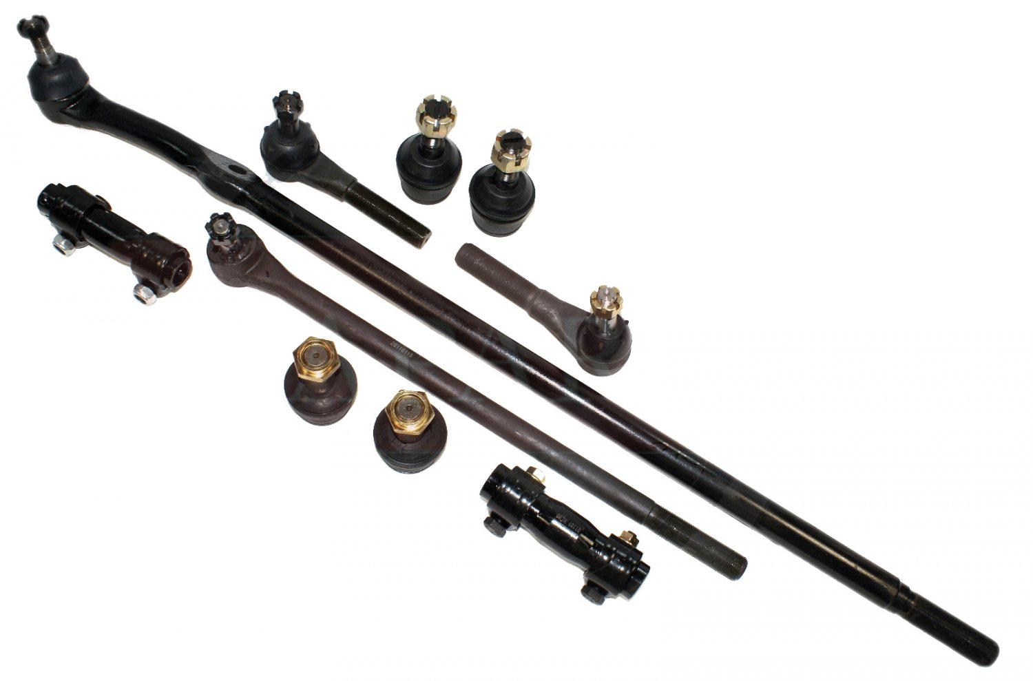 Ford Bronco 4wd Adjusting Sleeves Tie Rod Ends