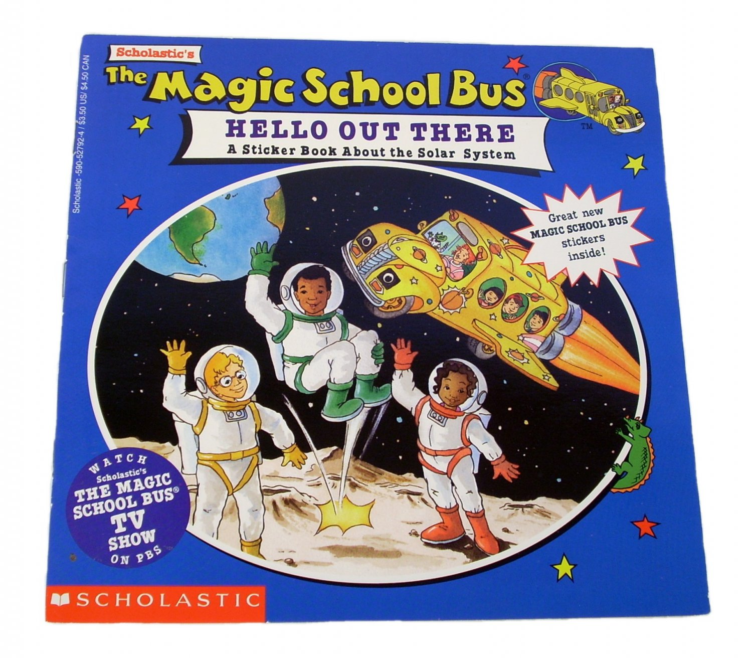 The Magic School Bus Hello Out There By Joanna Cole