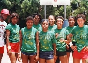 Vintage 1980s Black Women Basketball Team Photo African ...